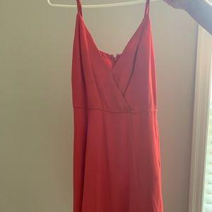 Revolve coral dress